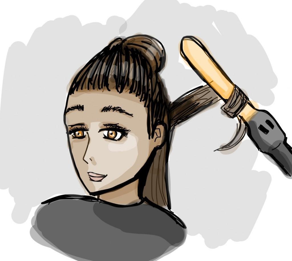hair graphic