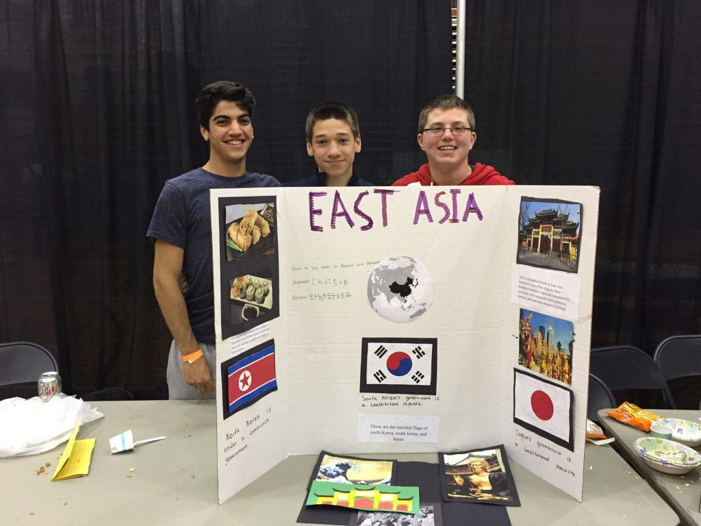 East Asian countries 3